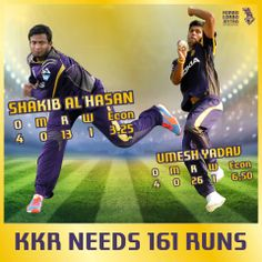 #DD has posted 160/5, Come on #Knights we can do this!  #KorboLorboJeetbo #OneTeamOnePledge #DDvsKKR