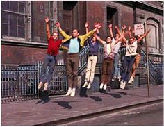 Here come the Jets West Side Story Characters, West Side Story Movie, West Side Story 1961, Famous Movies, Old Movies, Disney Channel, Good Morning Vietnam, Ella Enchanted, Good Will Hunting