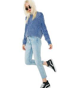 Hangin' Around Zipper Skinny Jeans