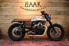 Moto Guzzi V7 Tracker by BAAK Motocyclettes.