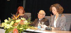 Arcebsipo de Kirkuk, D. Louis Sako e a Catarina Martins, Directora da Fundação AIS (Braga, 2011)