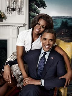 """So beautiful. <3 (""""President and First Lady Obama"""")"""