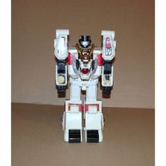 Power Rangers Robot Megazord Tigre Blanc  Sonore Lumineux Bandai 94