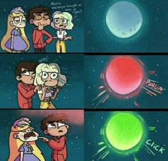 The moon is the starco shippers
