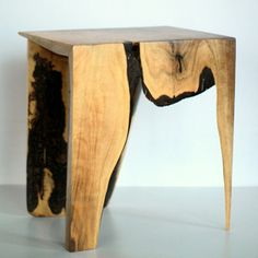 sustainably sourced, reclaimed, and repurposed materials turned into furniture by Stephane Hubert Design.
