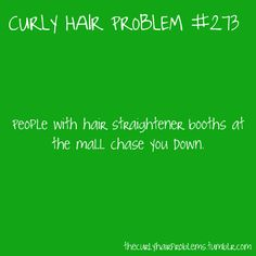 my hair is curly and its going to stay that way! Curly Girl Problems, Just Keep Walking, Curly Hair Styles, Natural Hair Styles, Haha So True, Hair Issues, Hair Quotes, Thats The Way, Hair Hacks