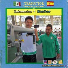 En el gimnasio los odiamos, pero con los resultados los amamos! #MexicanosenEspaña #Traductor  www.lapanzaesprimero.com