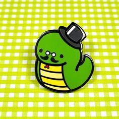 Gentleman Snake Pin