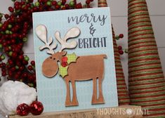 Christmas Moose / wooden Christmas sign / order here