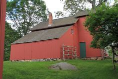 Weir Farm Barn Farm Barn, Stonehenge, New England, Shed, Outdoor Structures, City, Wall, Design, Cities