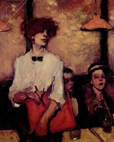 Milt Kobayashi「The Waitress」