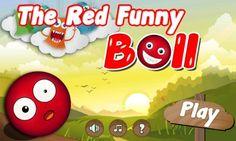 The Funny Red Ball  #the_funny_red_ball #red_ball_4 #red_ball  #red_ball_3 http://redball4games.com http://weheartit.com/redball4