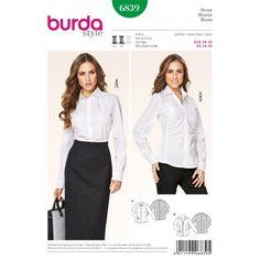 Střih Burda číslo 6839 - Eshop www.burda-strihy.cz