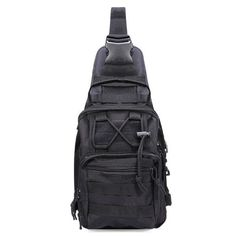 Reliable Military Tactical Nylon Chest Bag Camping Men Equipment Outdoors Wading Chest Pack Cross Body Sling Single Shoulder Bags 50% OFF Sports & Entertainment