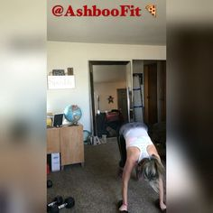 WEBSTA @ ashboofit - Busy productive day almost forgot to post my workout…