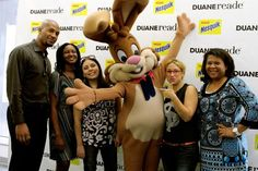 We also got to meet the Nesquik bunny!  He was so much fun and had so much personality! #DRNesquik