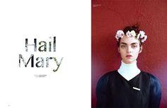 Oyster Magazine - Hail Mary