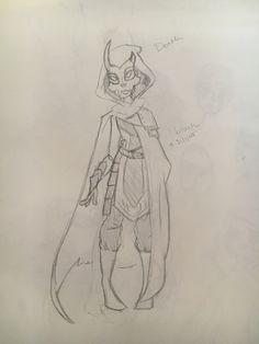 Death first sketch 2016