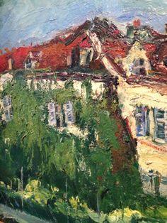 Landscape with House  Chaim Soutine (1934)