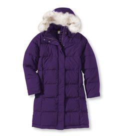 LL Bean Ultrawarm Coat, Three-Quarter Length. Comes in Purple!