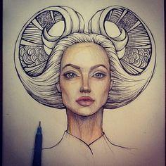 doodle head
