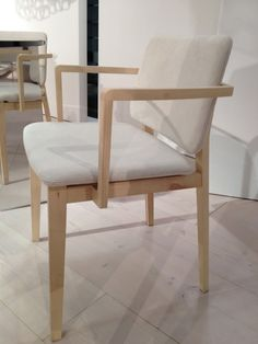 The Hati chair by Piero Lissoni for Lema. Spotted at IDS12.   Photographer Margot Austin