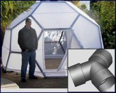 Geodesic Dome Connectors