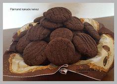 Habverő és fakanál: Flamand kakaós keksz (tej és tojásmentes) Tej, Minden, Cookies, Desserts, Recipes, Food, Crack Crackers, Tailgate Desserts, Deserts
