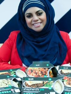 Shazia Saleem: This young Muslim entrepreneur found a way to celebrate the two parts of her cultural identity through her newly launched ready-meals business, Ieat Foods, which makes a range of traditional British and Italian dishes - such as shepherd's pie and lasagna - prepared in the halal manner.