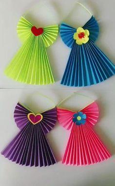 Paper Flowers Craft, Paper Crafts Origami, Paper Crafts For Kids, Diy Arts And Crafts, Flower Crafts, Creative Crafts, Fun Crafts, Simple Paper Crafts, Paper Folding Crafts