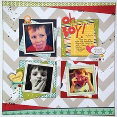 Multi-page workshop for Scrap Addicts.  Ten single page layouts using Bella Blvd. Family Forever. Paper Candie Designs