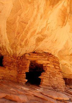 archaeology photo, anasazi granary, anasazi ruin photo, utah history, native american ruins
