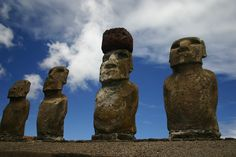 Easter Island, or Rapa Nui, is part of Chile and a World Heritage Site.  Claimed as most remote inhabited island.