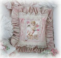 ♥ Sweet soft pinks toile