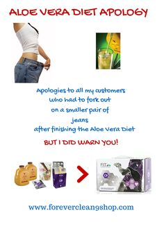 Speaks for itself, don't you think? www.foreverclean9shop.com #aloeveradiet #clean9diet