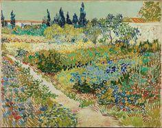 Vincent Van Gogh, Garden to Arles, July 1888