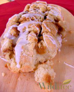 Cinnamon Roll Pull Apart Bread  www.Facebook.com/WildtreeOfficial