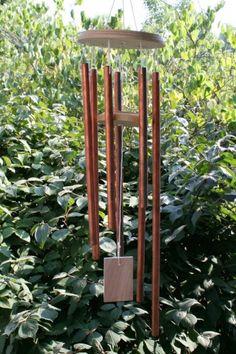 Easy DIY windchimes - nice gift  :-)  #DIY #craft #windchimes #chime #garden