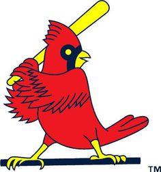 Late 80's early 90's St. Louis Cardinals bird logo.