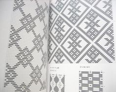 kogin is kind of traditional embroidery from the northern part of japan. originally used as a form of darning or reinforcing work clothes, the patterns became and beautiful and intricate decoration. like the related embroidery sashiko, kogin is most commonly done with white thread on a indigo blue background.  this wonderful book combines kogin technique and practical projects. the process of creating the stitches is explained step by step. the written instructions are all in japanese, but…