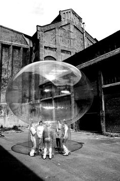 ANA REWAKOWICZ Conversation Bubble, Oslo/Odda/Bergen Norway, 2008