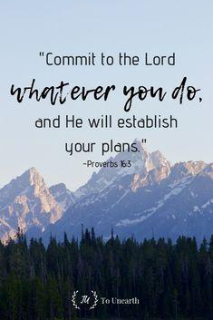 Follow God and gain