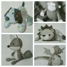 Baby clothes keepsake animals Contact for a custom order (not yet listed) Funky Friends Factory & DIY stuffies patterns.