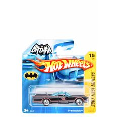 AmazonSmile: Hot Wheels Tv Batmobile 2007 First Edition 15 of 36 on Short Card: Toys & Games