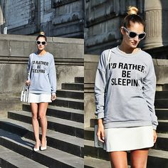 Get this look: http://lb.nu/look/8647135 More looks by Ruxandra Ioana: http://lb.nu/user/1879281-Ruxandra-I Items in this look: Love Of Queen Sweatshirt #casual #chic #streetstyle #look #ootd
