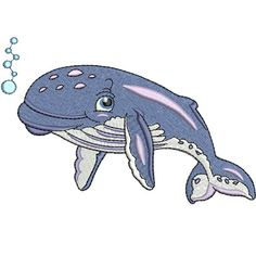 Baby Humpback Whale embroidery design collection is digitised for the inch hoop x and is available in ART DST EXP HUS JEF PES VIP and XXX formats Whale Drawing, Whale Painting, Watercolor Whale, Humpback Whale Facts, Humpback Whale Tattoo, Colorful Fish, Tropical Fish, Fish Sketch, Fish Clipart