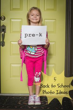 Back To School Photo Ideas tipsaholic.com #kids #school #pictures