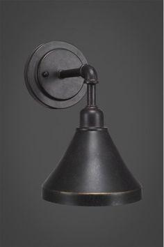 Wall Sconce Lighting, Kitchen Lighting, Wall Sconces, Brook House, Milk Glass Lamp, Garage Interior, Dimmable Light Bulbs, Wagon Wheel, Steel Wall