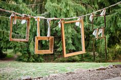Good way of hanging frames, if they're light enough