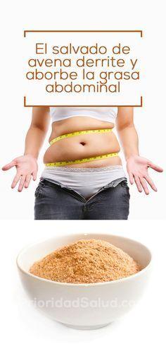 Usa la avena de esta forma para quemar la grasa abdominal y perder peso rápidamente.